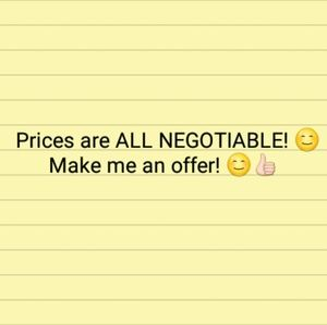 Make me an offer! 😊👍